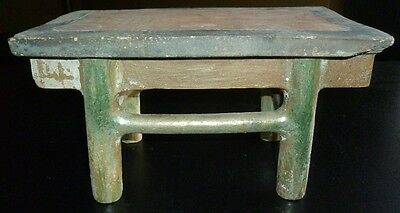Fine Ming Dynasty Chinese Table with Two Vases and Four Offerings 7 • CAD $889.17