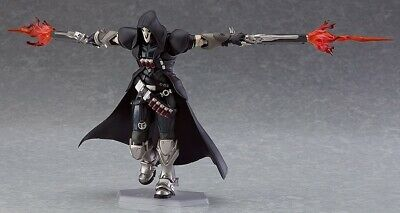 "6.7/"" Overwatch Reaper Action Figure OW Figma 393 Collectible PVC Toy Gift In Box"