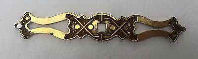 French Provincial Antique Hardware Vintage Drawer Pull Knob Brass Cabinet Pull 6