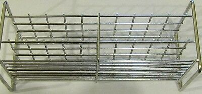 Stainless Steel Wire Wireframe Test Tube Rack 40 Tubes 15mm Chang Bioscience