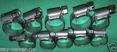 10 Hopinox 8M Edelstahl V4A Schlauchschellen Hose Clamps Stainless Aquarium Fish 2