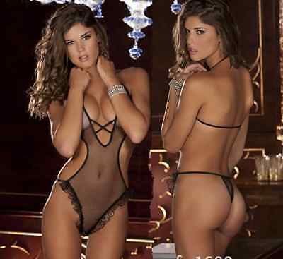 Body string H ou F NEOFAN transparence totale sheer sexy Ref S60 6