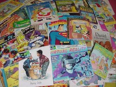 Lot of 20 Childrens Reading Bedtime-Story Time Kids BOOKS RANDOM MIX UNSORTED 5