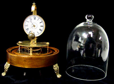 Mystery Briggs Rotary Glass Dome Flying Ball Clock 3
