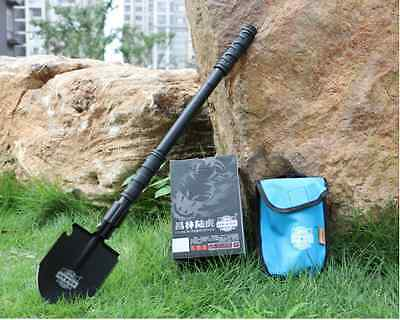 Military Utility Folding Multi Shovel Outdoor Camping Self-defense Survival Tool