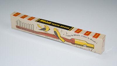 Kinderzahnbürste B-B Whistle TOOTH BRUSH um 1930-50
