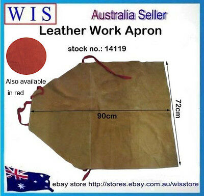 2 in 1 Cow Leather Welding Apron,Welder's Aprons & One Pair Cow Leather Sleeves 2