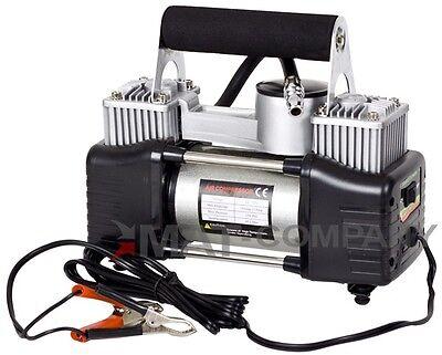 Freizeit 2 Zylinder Hochleistungs 12Volt Luft Kompressor Autoreifen