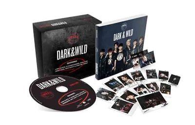 BTS [DARK & WILD] 1st Album CD+Photo Book+2p Photo Card+GIFT CARD K-POP SEALED 4