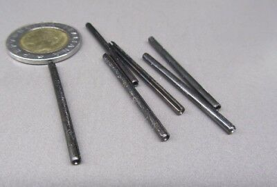"""Steel Slotted Roll Spring Pin, 3/32"""" Dia x 1 1/2"""" Length, 250 pcs 5"""