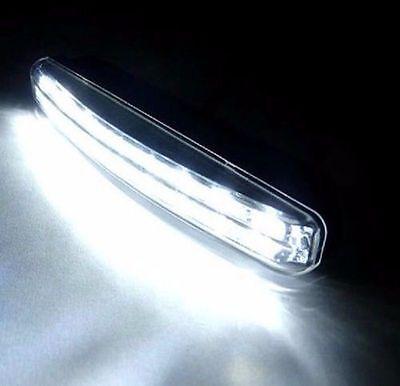 Car Light 8LED DRL Fog Driving Daylight Daytime Running LED White Head Lamp 7
