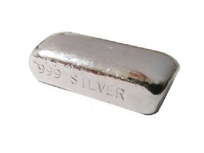 1 Troy Ounce Silver BarBlank Bar.999Hand PouredVolume Pricing