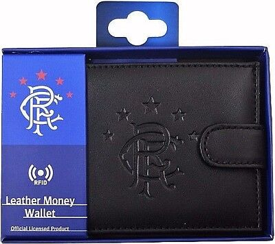 Debossed Crest Rfid Real Leather Football Club Sports Boxed Money Wallet Purse 11