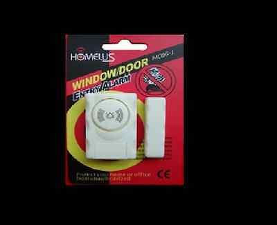 STOP BURGLAR Magnetic Window Door Security Sensor Alarm 1 Unit, Family Safe Gift 4
