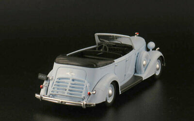 ZIS 102 AutoLegends USSR 1939 Diecast Metal model 1:43 Deagostini New \