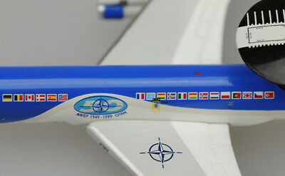 Luxembourg NATO E-3A Sentry 50th Anniversary 1:500 FREE SHIPPING!! NO BOX!!!