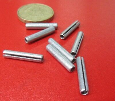 """Zinc Plate Slotted Roll Spring Pin, 9/64"""" Dia x 3/4"""" Length, 100 pcs 2"""