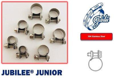 Stainless Steel Jubilee Hose Clip Mini Fuel Line Clamp Diesel Petrol Pipe Clamps 3