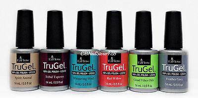 EZFlow TruGel - Gel LED/UV Nail Polish 0.5oz/15mL - Choose your color - Series 3 4