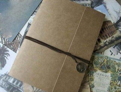 "Scrapbook album ""Lucky coin "" Memory DIY Sketchbook Wedding Anniversary Party"