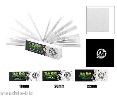 JASS TIPS Boite 50 Carnets Filtres Carton - 3 Largeurs - PROMO ! 2