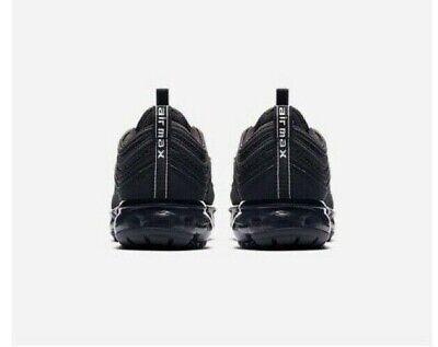 online store 1bf7b f5ff6 NIKE AIR VAPORMAX 97 Triple Black AQ2657-001 (Gs) Size 7