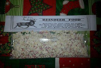 Santa Package:1 Gift, Personal Letter from Santa, Reindeer food,Nice Certificate