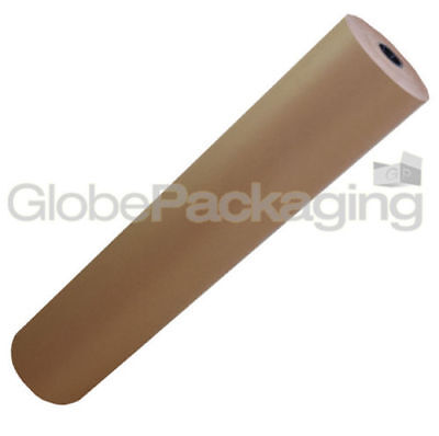 750mm x 25M Strong Brown Kraft Wrapping Paper 88gsm 2