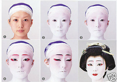 Oshiroi Gesicht Paste Pulver Kabuki Makeup Skin Whiting Weiß Maiko Cosplay 150g