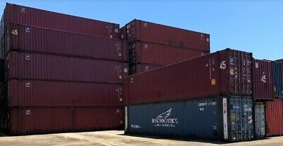 45' HC Shipping Container / 45ft Cargo Worthy Container in Minneapolis, MN 4