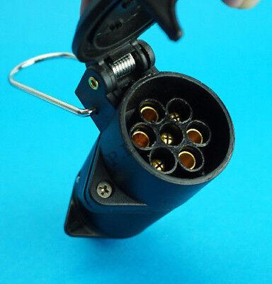 12N 7 Pin Flying Socket for Extension Lead Towing Trailer Horse Box & Caravan 2