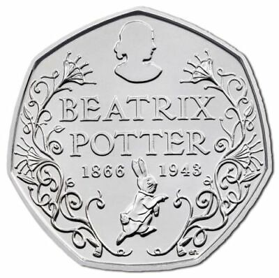 Rare & Valuable UK 50p Pence Coins Circulated Beatrix Potter London Olympics WWF 6