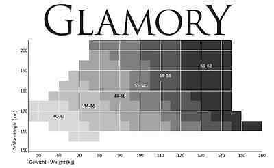 Glamory OUVERT 20 - Strumpfhose My Size Gr. IV - VIII schwarz 3
