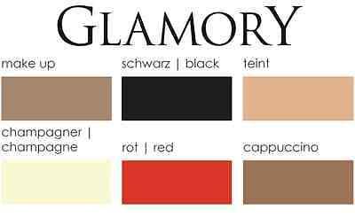 Glamory OUVERT 20 - Strumpfhose My Size Gr. IV - VIII schwarz 4