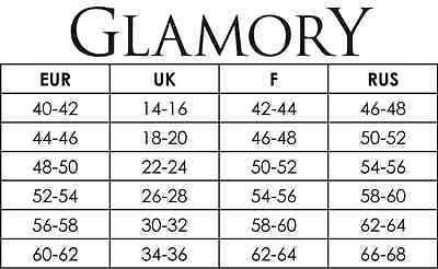 Glamory OUVERT 20 - Strumpfhose My Size Gr. IV - VIII schwarz 2