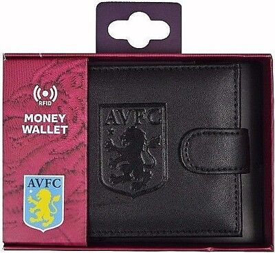 Debossed Crest Rfid Leather - Football Club Sports Boxed Money Wallet Purse 5