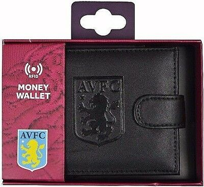 Debossed Crest Rfid Real Leather Football Club Sports Boxed Money Wallet Purse 5