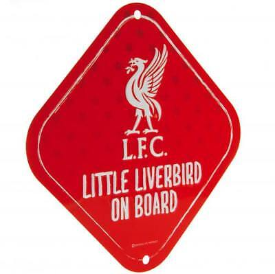 568cff489 ... Liverpool Fc Baby On Board Child Sign Car Accessories Window New Gift  Xmas 3
