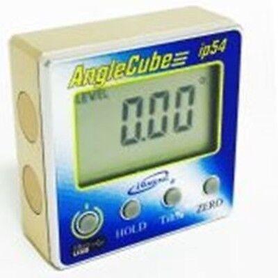 RECHARGEABLE iGAGING ANGLE CUBE DIGITAL TILT LEVEL BEVEL GAUGE ELECTRONIC 3