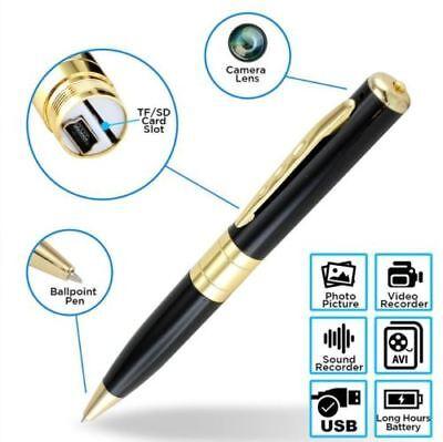 32GB Spy Hidden Camera Pen HD 1080P Video DV/DVR Camcorder Recorder Security Cam 6