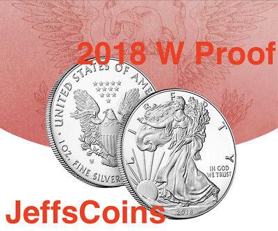 2018 S AMERICAN EAGLE SILVER DOLLAR Proof San Francisco Mint 1oz .999 Coin 18EM 4