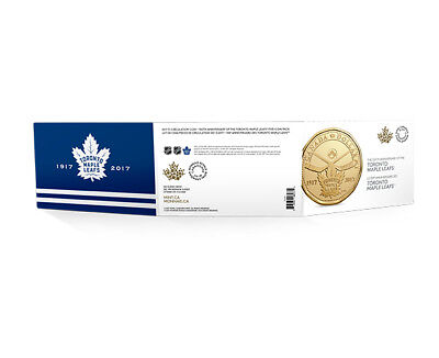 2017 Canada Toronto Maple Leaf 100th Anniversary $1 Dollar Loonie 5-Coin Pack 9