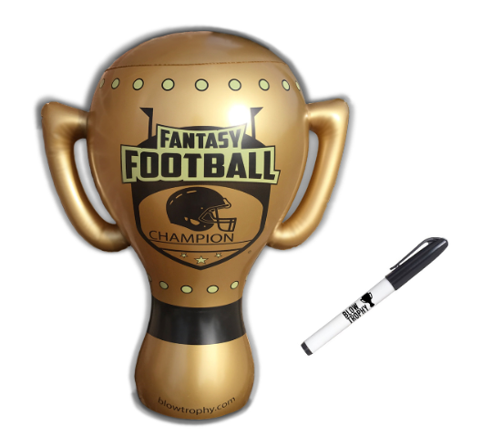 """Fantasy Football Trophy Blow Trophy GIANT Inflatable 24"""" x 20"""" Annual Perpetual 3"""