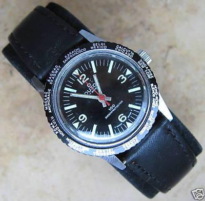 Rock the Clock☺☻ 70er Jahre Herren Uhr antik Duxot100 Sammler Telemeter Luxusuhr