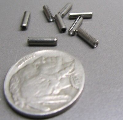 """420 Stainless Steel, Slotted Roll Spring Pin, 3/32"""" Dia x 3/8"""" Length, 200 pcs 8"""