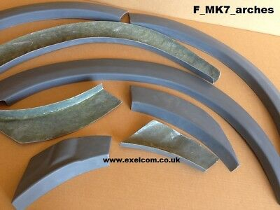 FORD TRANSIT SPORT  ST style  WHEEL ARCHS MK7 (06-13) EASY FIT NO NEED TO PAINT 2