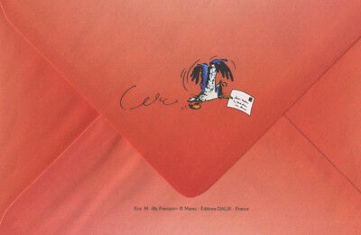 Carte postale Gaston Lagaffe Meilleurs Voeux ! Tendresse, amitié, et mille affec 4