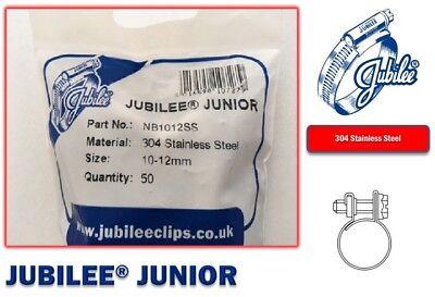 Stainless Steel Jubilee Hose Clip Mini Fuel Line Clamp Diesel Petrol Pipe Clamps 7