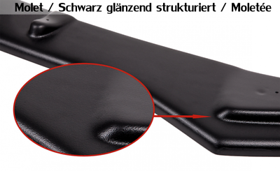 CUP Diffusor Ansatz MITTE für Mercedes A Klasse W176 AMG Line Heck Stoßstange