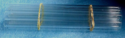 "12mm O.D. Pyrex / Borosilicate Glassblowing Tubes  12mm X 10"" - 10 pcs. 3"